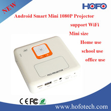 2015 new models mini 1080P let projector can connect with wifi