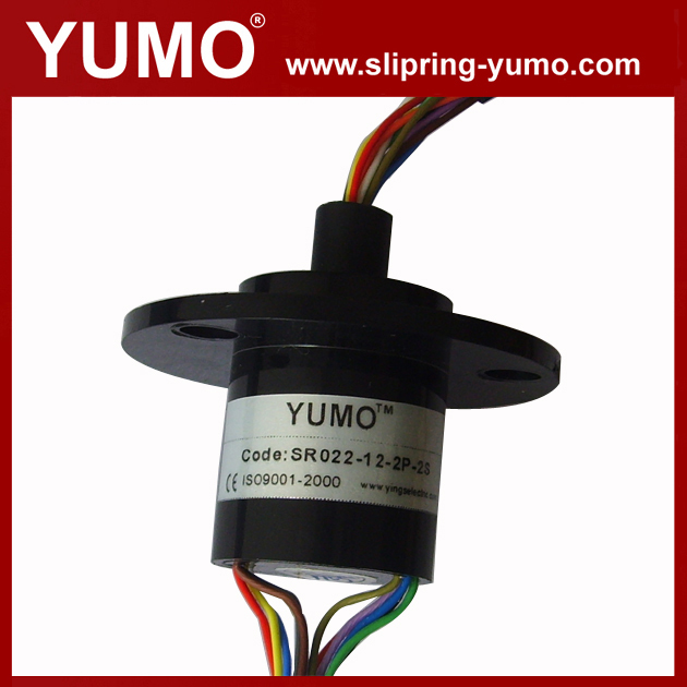 Od 22 мм 12 схемы 2A электрические контакты CE ROHS сертифицированы капсула поворотный фазным электрический контактное кольцо