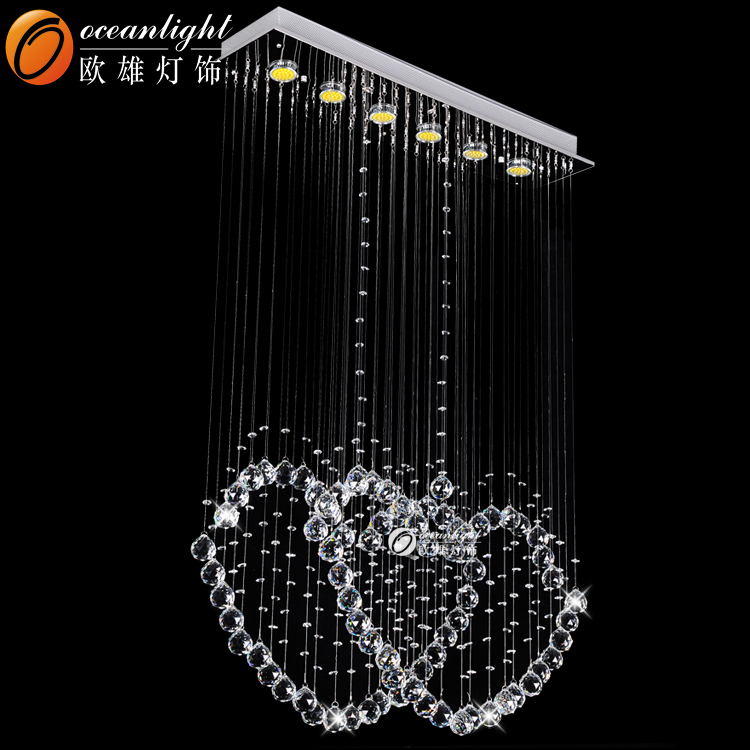Led Ceiling Lights Made In China : Led ceiling light modern fancy crystal chandelier