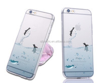 marine sea lion/penguin/dolphin tpu case for phone