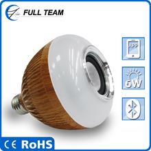 APP control RGB+White colors multi functions timing sleep music rhythm shake wireless speaker led bluetooth lights