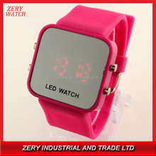 Fasion LED Watches Custom Jelly watch Silicon design your own watch