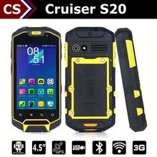 Numerous functions Cruiser S20 4200 Mah SOS/PTT/GPS wifi android 4.5 inch dual camera mobile phone waterproof