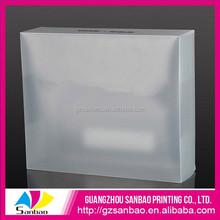 Professional plastic packaging box manufacturer guangzhou sanbao help you make your own plastic box