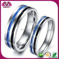 Factory sale and cheap prices fashion stainless steel Beautiful Silver Rings