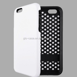 TPU +PC 2 Piece Rugged Case for iPhone 6