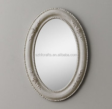 Vintage Inspired Oval Mirror