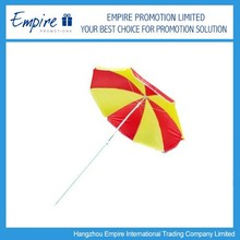 Wholesale promotion outdoor windproof beach umbrella with cheap price