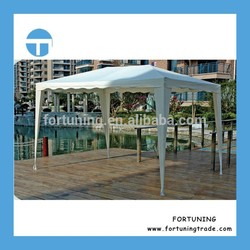 Experienced factory cooperated heavy duty UV resistant enclosed canopy portable gazebo canopy