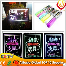 Alibaba express 2015 new technology on YIWU market led writing board with marker pen