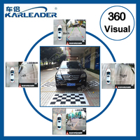 2015 newest 360 degree full around view camera system for car parking sensor