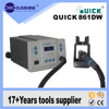 High accuracy 1000W hot air weld gun bga smd rework station Quick 861DW