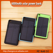 2015 New Solar Power Bank 8000mah external Battery Solar Charg