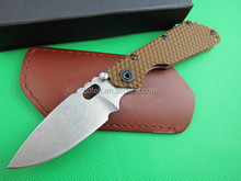 OEM outdoor knife leather folding knife sheath UD401343