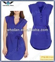 women tunic blouse, blouse for women 2014, women plain blouse