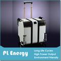 Batería de litio de 12V 100Ah banco portable con salida de CA y CC