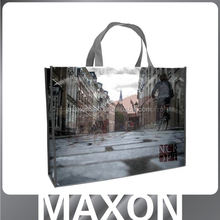 2015 best sell custom design picture printing yellow pp laminated non woven bag,laminated non woven bag