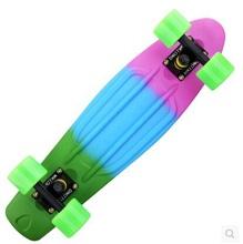 "Fade Penny style skateboard complete 22 ""mini backpack retro cruiser longboard skateboard fish"