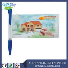 Promotional Retractable Banner Pens , flage message in Banner pen , advertisement pen