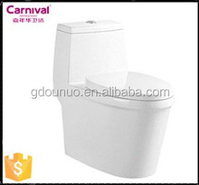 Porcelain new design floor water saving closet V152