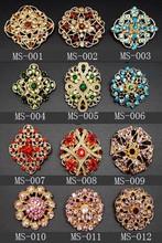 Fashion jewelry rhinestone brooch pin crystal brooch jewelry MJBH-101706