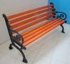 China factory cheap wpc outdoor garden cast iron antirust designer wooden bench
