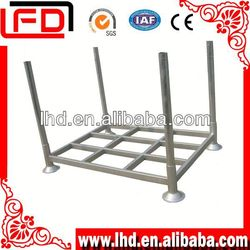 durable warehouse rack pallet rack steel mesh decking stacking container