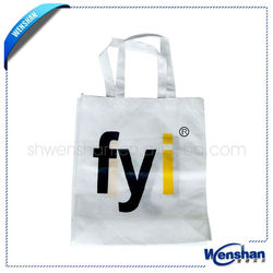 promotional cheap logo shopping bags with any design