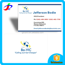 professional high quality business card manufacturers