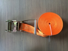 75mm x 30m tie down strap for cargo lashing