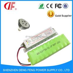 6W LED emergency lighting kit driver and battery backup DF 2hours 6V