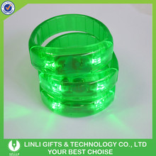 Coloful Light Party Cheap Blinking Flashing Bracelet With LED For Promotion, Customized Blinking Flashing Bracelet With LED