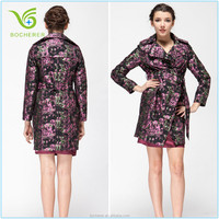Fashion woman lady girl western style ladies long winter coats