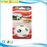 High quality PU football unique car air freshener