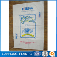 Best quality and price bag pp woven 30kg, pp woven bag for 25kg 50kg rice packing, UV stabilized pp woven bag buyer