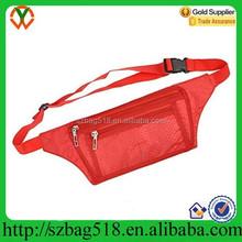 Hot sale promotional sports running belt bag money belt bag waist bag