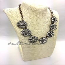 KZ-050 Yiwu Caddy Europe and America Fashion Accessories Exaggerated Costly Temperament gem Short Necklace