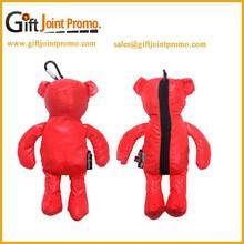 High Quality Bear Folding Shopping Bag, Special Bear Foldable Shopping Bag