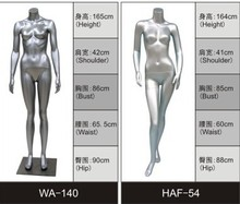 fashion modeling /lifelike sexy women/ female adults mannequin without head