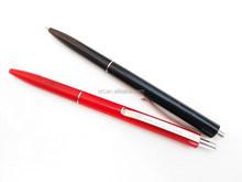 cheap ball pen with metal clip,New Elegant Design Plastic Ballpoint Pen