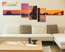 Digital photo printing canvas wall art