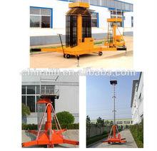 Trailing telescópica cilíndricas elevador/máquina china fornecedor