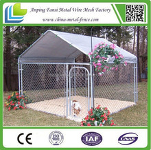cheap powder-coated chain link dog cage new products dog crate