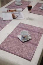 placemat display rack/felt placemat/kitchen table placemat