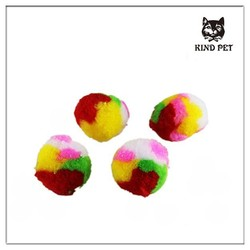 pet shop products colorful cat toy ball