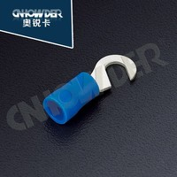 HNY 1.25-4 hook red terminal nylon insulated terminal connector with hook copper