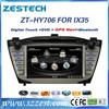 Zestech double din automotive radio dvd gps for hyundai ix35