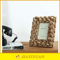 Wholesale Resin Handmade Wood Picture Frames/Cheap Wood Photo Frame for Home Decoration