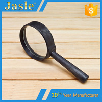 50mm Cheap Promotional Glass Reading Magnifier for Elderly and Children