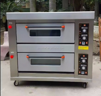 commercial double deck bakery cake oven prices